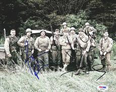 Tom Hanks, Matt Damon & Ribisi Autographed Signed 8x10 Photo PSA/DNA #S47047