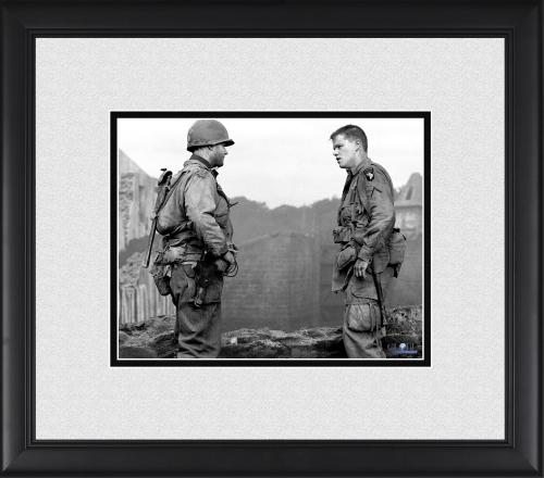 "Tom Hanks & Matt Damon Saving Private Ryan Framed 8"" x 10"" Photograph"