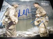 TOM HANKS MATT DAMON SIGNED AUTOGRAPH 8x10 PHOTO SAVING PRIVATE RYAN COA AUTO D
