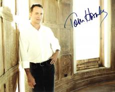 "TOM HANKS - Movies Include ""FORREST GUMP"", ""THE GREEN MILE"", and ""CAST AWAY"" Signed 10x8 Color Photo"