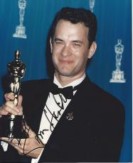 "TOM HANKS - Movies Include ""THE BIG"", ""FORREST GUMP"", ""CATCH ME IF YOU CAN"", and ""SLEEPLESS IN SEATTLE"" Signed 8x10 Color Photo"
