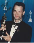 """TOM HANKS - Movies Include """"THE BIG"""", """"FORREST GUMP"""", """"CATCH ME IF YOU CAN"""", and """"SLEEPLESS IN SEATTLE"""" Signed 8x10 Color Photo"""