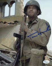 Tom Hanks Private Ryan Autographed Signed 8x10 Photo Certified Authentic JSA COA