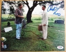 Tom Hanks Robert Zemeckis signed 8x10 photo Forrest Gump PSA/DNA autograph