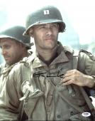 Tom Hanks Saving Private Ryan Signed 11X14 Photo PSA/DNA #X44342