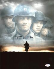Tom Hanks Saving Private Ryan Signed 11X14 Photo PSA/DNA #Z57142