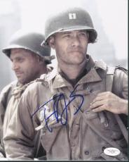 Tom Hanks Saving Private Ryan Signed 8X10 Photo JSA #E62184