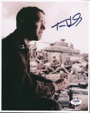 Tom Hanks Saving Private Ryan Signed 8X10 Photo PSA/DNA #U65719