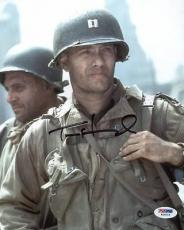 Tom Hanks Saving Private Ryan Signed 8X10 Photo PSA/DNA #W25015