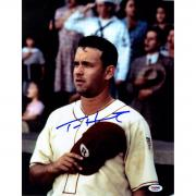 Tom Hanks Signed 11x14 A League of Their Own Vertical Photo PSA/DNA