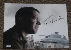 Tom Hanks Signed 11x14 Photo Autograph Philadelphia Oscar Winner Psa/dna V72649