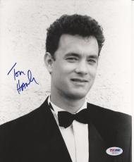 TOM HANKS Signed 8 x10 PHOTO with PSA/DNA LOA & Graded 10