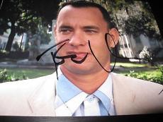 TOM HANKS SIGNED AUTOGRAPH 8x10 PHOTO SAVING PRIVATE RYAN IN PERSON COA RARE H