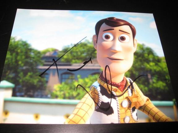 TOM HANKS SIGNED AUTOGRAPH 8x10 PHOTO TOY STORY WOODY IN PERSON COA AUTO RARE B