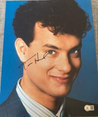 "Tom Hanks Signed Autograph New ""big"" Classic Image Promo Poster 11x14 Photo Coa"