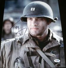 "Tom Hanks Signed Autograph ""saving Private Ryan"" Rare 11x14 Photo Psa/dna X87236"