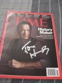 Tom Hanks Signed Autograph Time Mag Forrest Gump Coa B