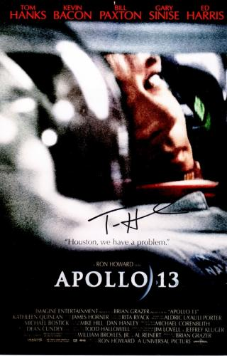 Tom Hanks Signed - Autographed APOLLO 13 - Jim Lovell 11x14 inch Photo - Guaranteed to pass PSA or JSA