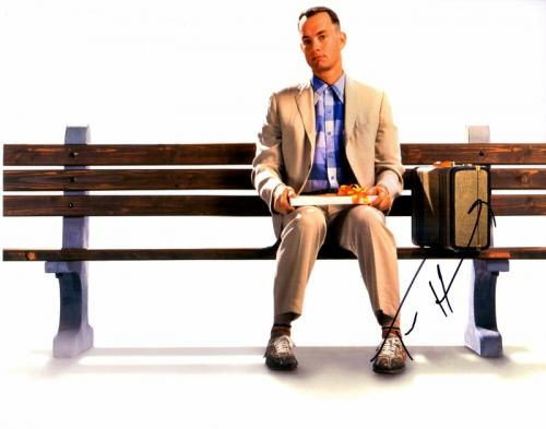 Tom Hanks Signed - Autographed FORREST GUMP 11x14 inch Photo - Guaranteed to pass PSA or JSA