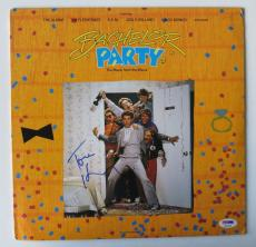 Tom Hanks Signed Bachelor Party Authentic Vinyl Record Album (PSA/DNA) #Q14164