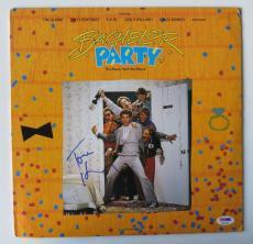 Tom Hanks Signed Bachelor Party Authentic Vinyl Record Album (PSA/DNA) #Q14164