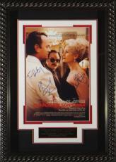 Tom Hanks signed Charlie Wilson's War 22X30 Masterprint Poster Custom Rope Framed w/ 3 sigs (movie/entertainment/photo)