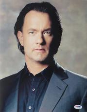Tom Hanks Signed Da Vinci Code Authentic Autographed 11x14 Photo PSA/DNA #I36272