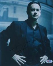 Tom Hanks Signed Da Vinci Code Authentic Autographed 8x10 Photo PSA/DNA #K16767