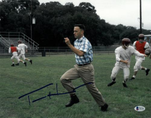 Tom Hanks signed Forrest Gump 11x14 Photo (Horizontal Run)- Beckett Holo #C88901