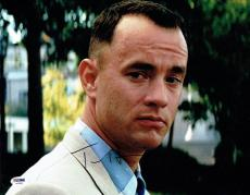 Tom Hanks Signed Forrest Gump Authentic Autographed 11x14 Photo PSA/DNA #AA31615