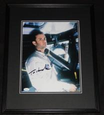 Tom Hanks Signed Framed 11x14 Photo Poster JSA Apollo 13