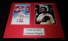 Tom Hanks Signed Framed 16x20 Photo Set AW A League of Their Own