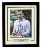 Tom Hanks Signed Framed Forrest Gump 11x14 Box of Chocolates Photo Beckett BAS