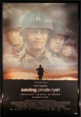 Tom Hanks Signed Framed Saving Private Ryan 27x40 Movie Poster PSA/DNA #C17198
