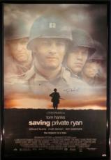 Tom Hanks Signed Framed Saving Private Ryan 27x40 Movie Poster PSA/DNA #C17198