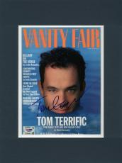 Tom Hanks Signed & Matted Vanity Fair Magazine Cover PSA/DNA #I84801
