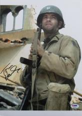 Tom Hanks Signed Saving Private Ryan Autographed 10x14 Photo (PSA/DNA) #L48092