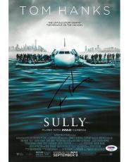 Tom Hanks Signed Sully Authentic Autographed 11x14 Photo PSA/DNA #AC78289