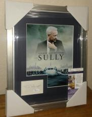 Tom Hanks Sully Movie Signed Autographed 13x16 Matted & Framed Jsa Coa