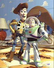 Tom Hanks & Tim Allen Toy Story Signed 11X14 Photo PSA/DNA #X44195