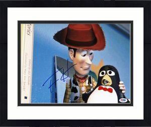 Tom Hanks Toy Story Signed 11X14 Photo Autographed PSA/DNA #V47114