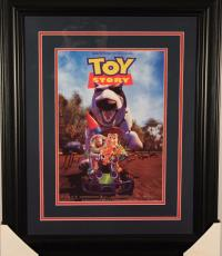 Tom Hanks/tim Allen Dual Autographed Framed 'toy Story' 11x14 Picture  Psa Loa