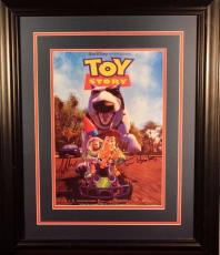 "Tom Hanks/Tim Allen ""Toy Story"" Autographed/Signed & Framed Photo (JSA LOA)"