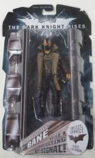 Tom Hardy Bane Signed Movie Masters Dark Knight Rises Figure Authentic Autograph