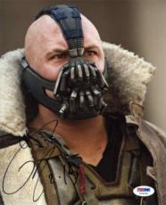 TOM HARDY Dark Knight Autographed Signed 8x10 Photo Authentic PSA/DNA