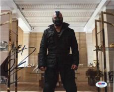 Tom Hardy Dark Knight Batman Autographed Signed 8x10 Photo Authentic PSA/DNA