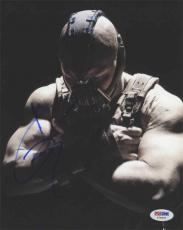 Tom Hardy Dark Knight Batman Autographed Signed 8x10 Photo Certified PSA/DNA !
