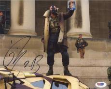 Tom Hardy Dark Knight Rises Batman Autographed Signed 8x10 Photo PSA/DNA
