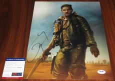 Tom Hardy Signed 11x14 Mad Max: Fury Road PSA/DNA