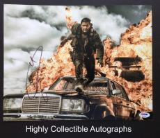 Tom Hardy Signed 11x14 Photo Autograph Psa Dna Coa Mad Max Fury Road